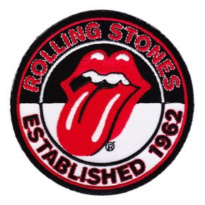 Rolling Stones - Est 1962 Embroidered (Patch)