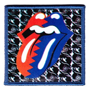Rolling Stones - Steel Wheels Tongue PVC (Patch)