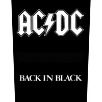 ACDC - Back In Black (Backpatch)