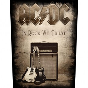 ACDC - In Rock We Trust (Backpatch)