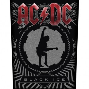 ACDC - Black Ice (Backpatch)
