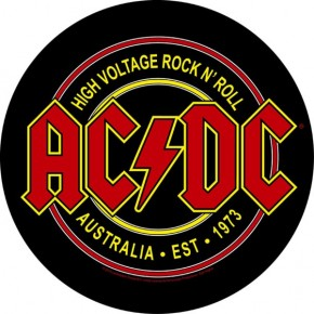 ACDC - High Voltage Rock N Roll (Backpatch)