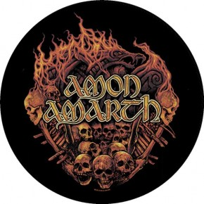 Amon Amarth - Battlefield (Backpatch)