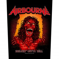 Airbourne - Breakin' Outa Hell (Backpatch)