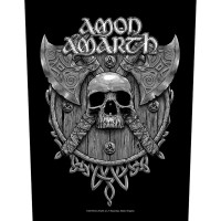 Amon Amarth - Skull & Axes (Backpatch)