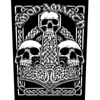 Amon Amarth - Three Skulls (Backpatch)