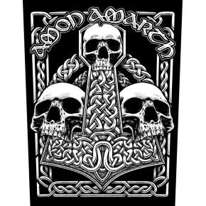 Amon Amarth - Three Skulls (Backpatch)