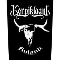 Korpiklaani - Skull (Backpatch)
