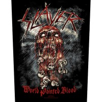 Slayer - World Painted Blood (Backpatch)