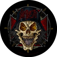 Slayer - Wehrmacht Circular (Backpatch)