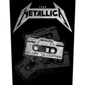 Metallica - No Life 'Til Leather (Backpatch)