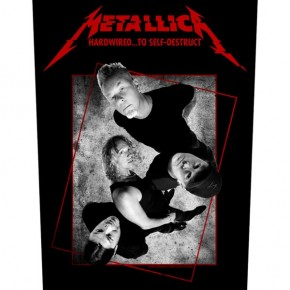 Metallica - Hardwired Concrete (Backpatch)