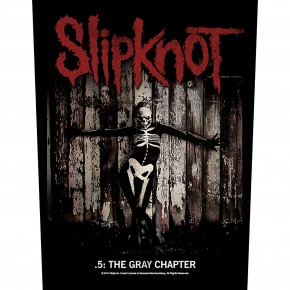 Slipknot - The Gray Chapter (Backpatch)