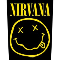 Nirvana - Smiley (Backpatch)
