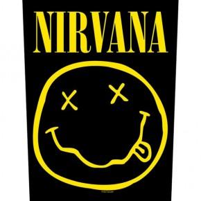 Nirvana - Smiley (Backpatch)