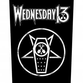 Wednesday 13 - What The Night Brings (Backpatch)