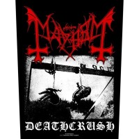 Mayhem - Deathcrush (Backpatch)