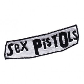 Sex Pistols - Silver Logo (Patch)