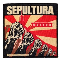 Sepultura - Nation (Patch)