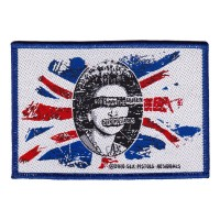 Sex Pistols - GSTQ White (Patch)