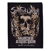 Six Feet Under - Murder Addiction (Patch)
