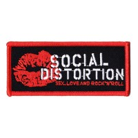 Social Distortion - Embroidered Logo (Patch)