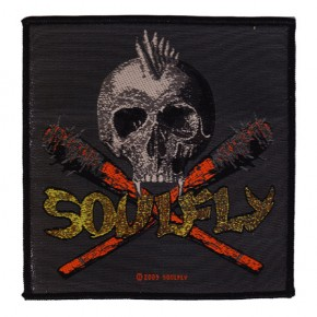 Soulfly - Skull & Clubs (Patch)