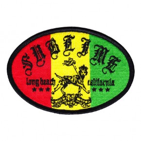 Sublime - Long Beach Rasta Embroidered (Patch)