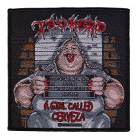 Tankard - A Girl Called Cerveza (Patch)