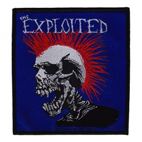 Exploited - Red Mohican (Patch)