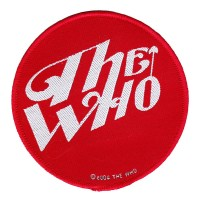 Who - Red Logo (Patch)