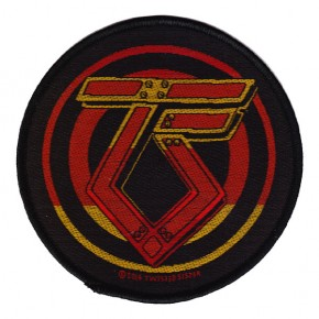 Twisted Sister - TS Logo (Patch)