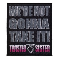 Twisted Sister - We're Not Gonna Take It! (Patch)