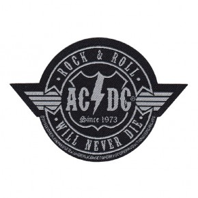 ACDC - Rock N Roll Will Never Die (Patch)