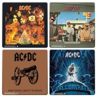 ACDC - Album Covers Set (Coasters)