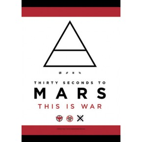 Thirty Seconds To Mars - This Is War (Textile Poster)