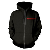 Hawkwind - Doremi Gold (Zipped Hooded Sweatshirt)