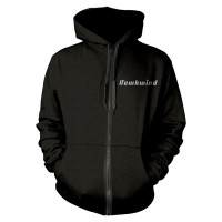 Hawkwind - Doremi Silver (Zipped Hooded Sweatshirt)
