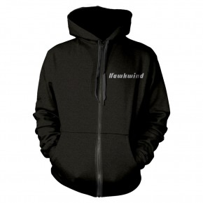 Hawkwind - Doremi Silver (Zipped Hooded Sweatshirt)