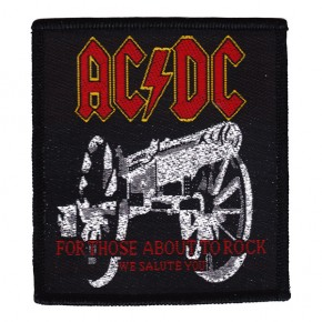 ACDC - For Those About To Rock (Patch)