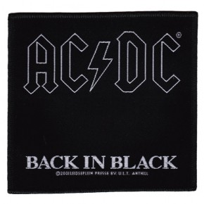 ACDC - Back In Black (Patch)