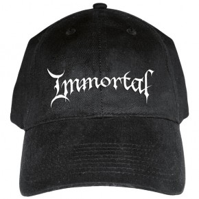 Immortal - Logo (Baseball Cap)