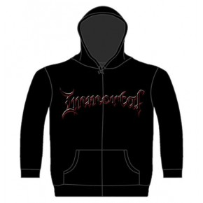 Immortal - Damned In Black (Zipped Hooded Sweatshirt)