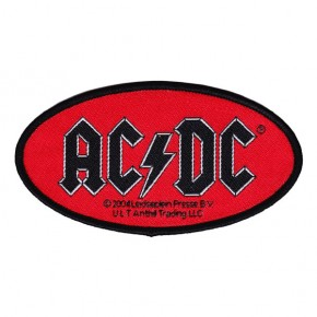 ACDC - Oval Logo (Patch)