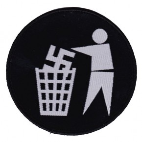 Anti Fascist Bin (Patch)