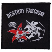 Anti Fascist Destroy Fascism (Patch)