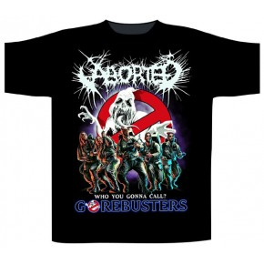 Aborted - Gorebusters (T-Shirt)