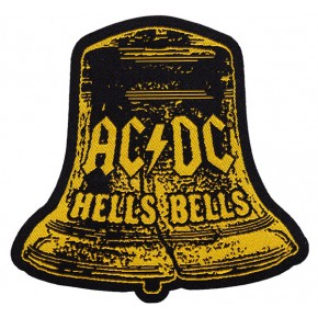 ACDC - Hells Bells Shaped (Patch)