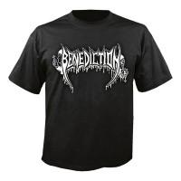 Benediction - Old School Logo (T-Shirt)