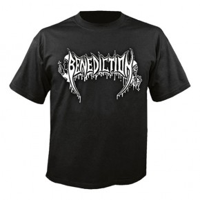 Benediction - Old School Logo (T-Shirt)
